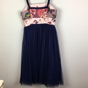 Moulinette Soeurs Dresses - Anthropologie dress embroidered tulle sparkle